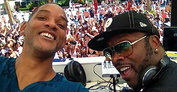 Will Smith And DJ Jazzy Jeff Reunited At The Palms Casino Resort For The Best Pool Party Ever